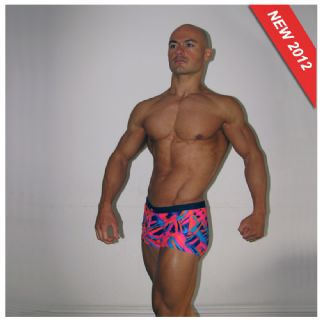 Mens Pink Swim Trunks | Hot Pink Mens Swimwear